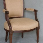 Early English Bergere in the French Taste
