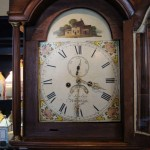 Early 19th Century English Tall Case Clock