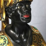 Large Blackamoor Umbrella Stand