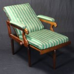 19th Century English Campaign Chair