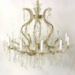 Bohemia Crystal Thirteen-Light Chandelier