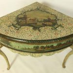 Early 19th Century French Corner Table