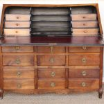 Louis XV Period Fruitwood Drop Front Desk