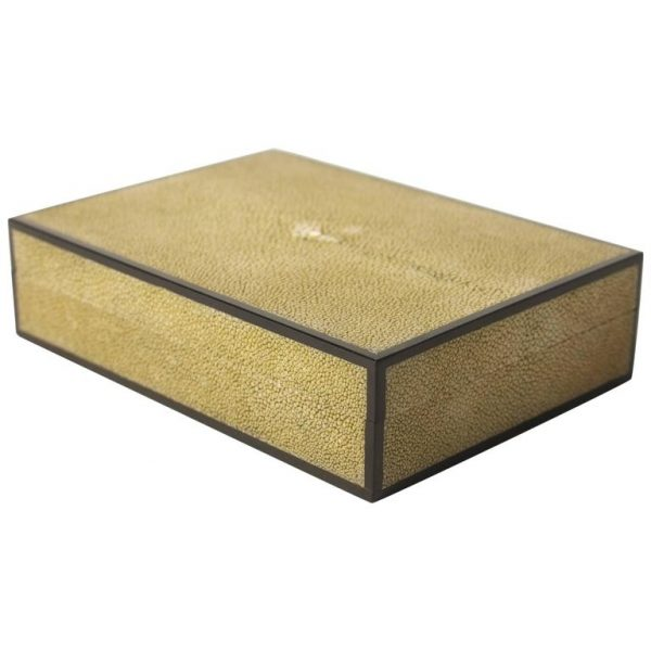 Shagreen and Ebony Box