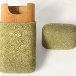 Shagreen Cigar Case