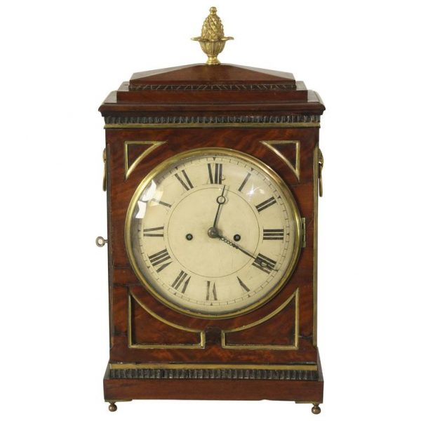 Regency 8-Day Bracket or Mantel Clock