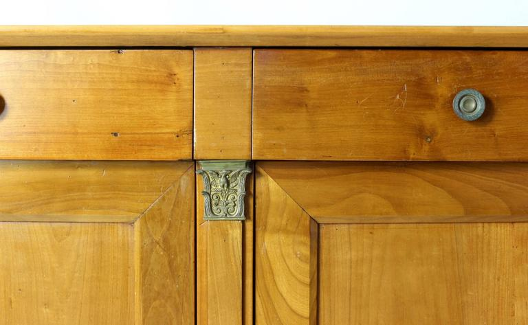 ... 19th Century French Cherrywood Buffet Cabinet ...