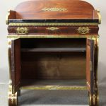 Mid-19th Century Mahogany and Brass Side Cabinet or Bar