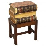 Books on Stand Side Table