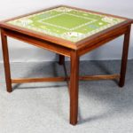 Needlepoint Top Card Table