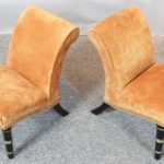 Pair of English Regency Period Gout Stools