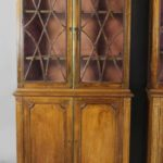 Pair of 19th Century Rosewood Bookcase Cabinets