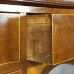 19th Century English Mahogany Console Table or Server