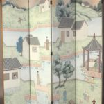 Exceptionally Large Eight-Panel Folding Screen