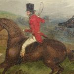 Pair of 19th Century English Sporting Paintings by Richard D. Widdas