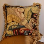 Pair of 18th Century Tapestry Fragment Pillows