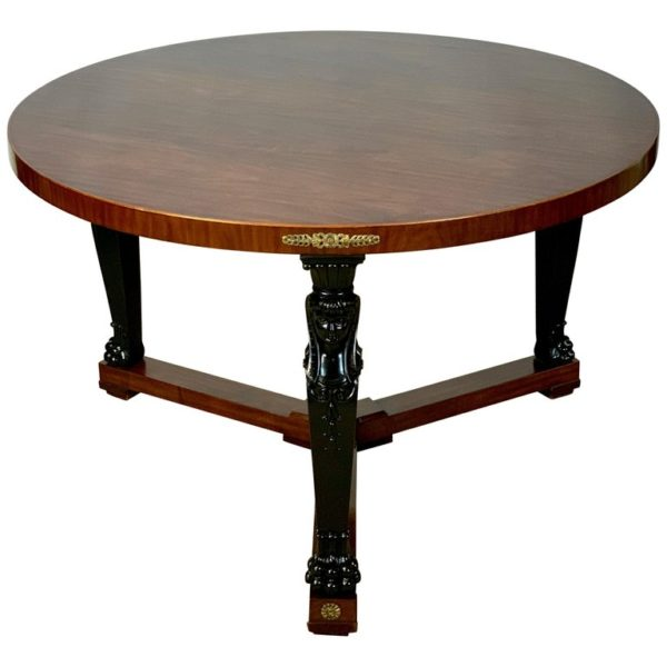 Large Empire Style Center Table
