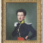 Early 19th Century Portrait of a French Officer