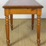 Late 19th Century Leather Top Writing Table