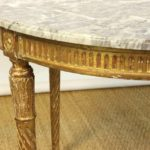 19th Century French Marble-Top Center Table