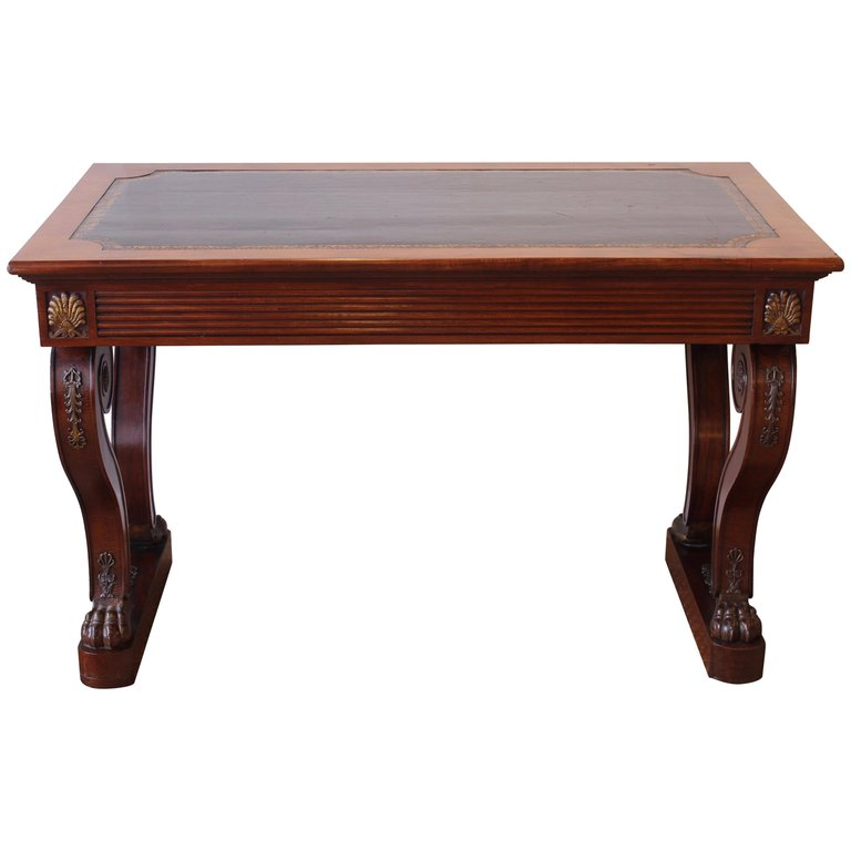 William IV Writing Table in the French Taste