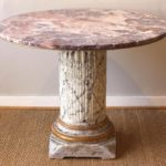 Marble-Top Centre Table