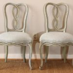 Set of Six Italian Dining Chairs