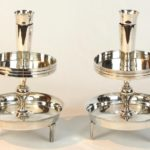 Pair of Tommi Parzinger Candlesticks