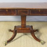 English Regency Rosewood Sofa Table