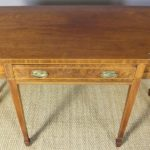 George III Style Serpentine Front Serving Table