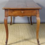 Early 19th Century French Cherrywood Farm Table