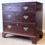 Small Late 18th Century Mahogany Bachelor's Chest