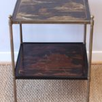 Jansen Style Chinoiserie Decorated Side Table