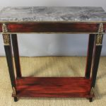 Italian Neoclassical Marble-Topped Console Table