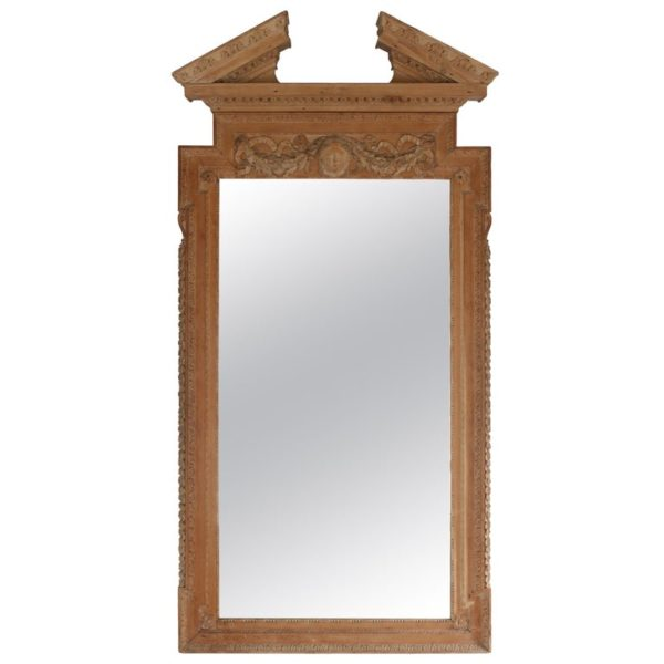 Large William Kent Style Architectural Mirror