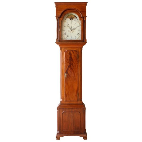 Early 19th Century Philadelphia Tall Case Clock