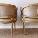 Pair of Late 19th Century French Bergeres