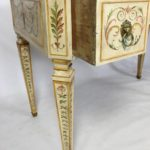 Neoclassical Style Painted Dressing Table or Desk
