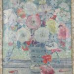 Still Life of a Vase of Flowers by Nora Condell