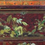 English George II Style Chinoiserie Decorated Secretaire