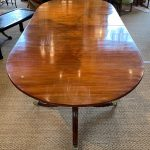 Late 18th Century English Double Pedestal Dining Table