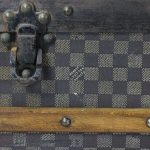 Early 20th Century Louis Vuitton Damier Steamer Trunk