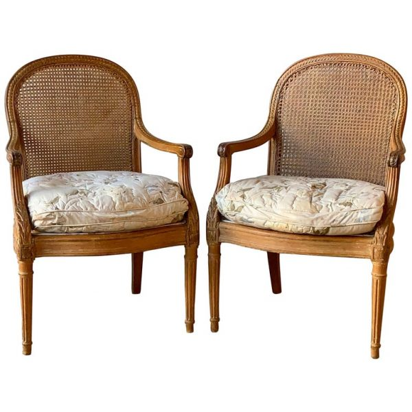 Pair of 19th Century French Fauteuils