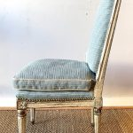 Pair of 18th Century French Slipper Chairs