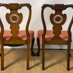 Mid-19th Century Chippendale Style Carved Mahogany Side Chairs