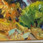 Small Oil Painting by California Plein Air Painter Joane Cromwell