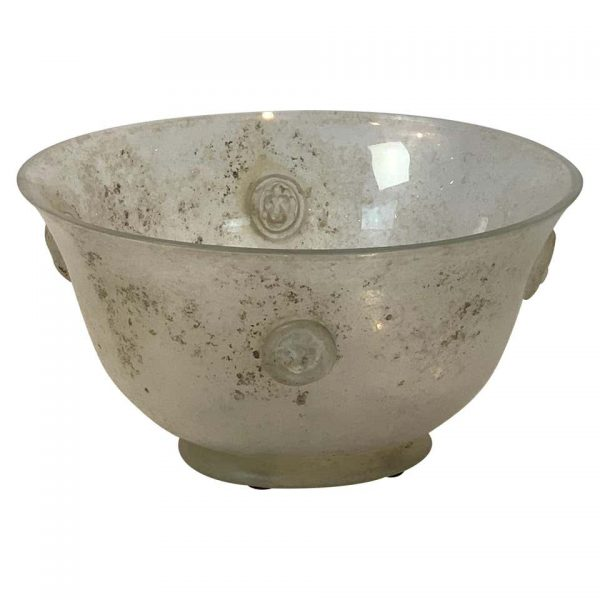 Large Scavo Glass Bowl by Seguso Vetri d'Arte