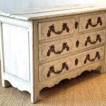 18th Century French Painted Oak Commode