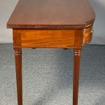 Regency Period Mahogany Sideboard Table