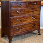 Early 19th Century English Mahogany Chest of Drawers